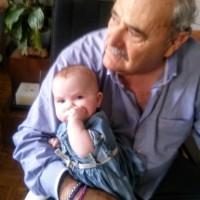 Francisco López Delgado., autor del poema'El viento sopla en mi alameda.''