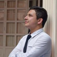 Santiago Andrés, autor del poema'CUESTA ABAJO''
