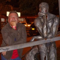 """Hermes Varillas, autor del poema'""""Todo y nada en mis dulces sueños"""".''"""