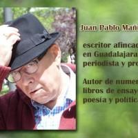 Juan Pablo Mañueco, autor del poema'Romance nuevo de la esperanza eterna''