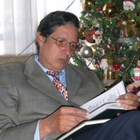 Hector Cediel, autor del poema'¡Dios, levanta la cabeza!''