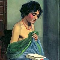 Eva, autor del poema'La silueta de las personas.''