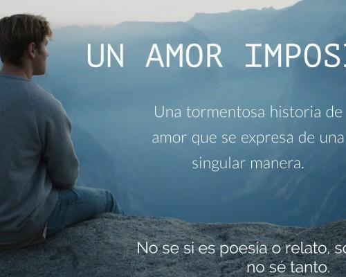 Poema Amor Imposible Por Park Guis Poematrix